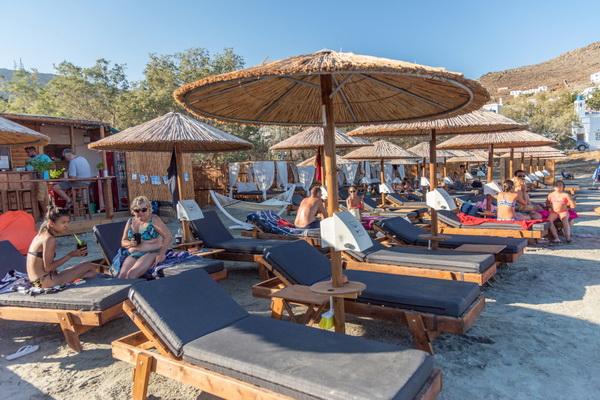 LaLa Louza Beach Bar στον Άγιο Ιωάννη, στο Πόρτο