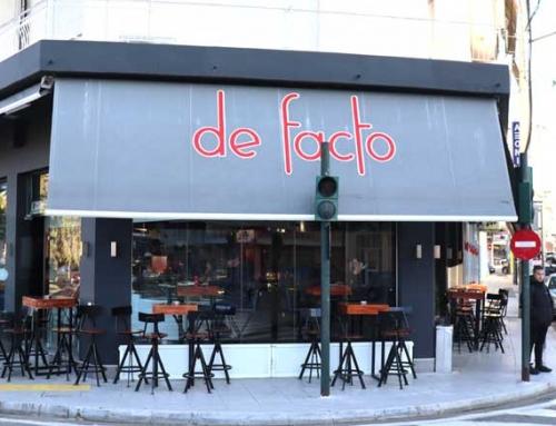 De Facto Cafe – Cafe-Snack Bar στην Υψηλάντου & Πατρών (βίντεο)