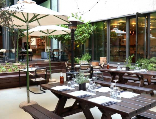 48 UrbanGarden Εστιατόριο στους Αμπελοκήπους (βίντεο)