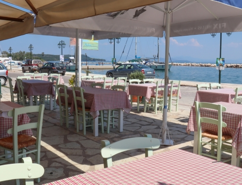 Molos εστιατόριο στην παραλία της Βόνιτσας  (βίντεο)