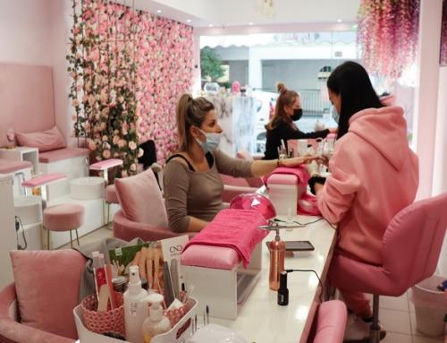 Icy Nails salon  στην Γρυπάρη, στούντιο περιποίησης νυχιών (βίντεο)