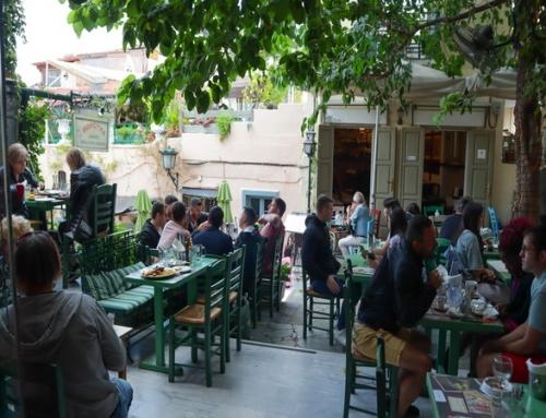 Anafiotika Cafe – Restauran στην Πλάκα (βίντεο)